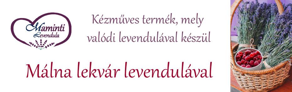 Málna-levendula lekvár